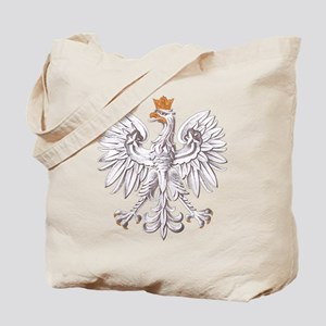 Polish White Eagle Tote Bag
