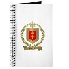 CHOLETTE Family Crest Journal
