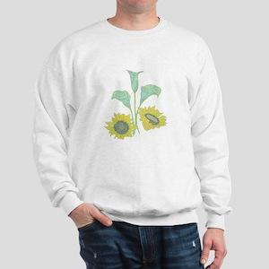 Sunflower & Calla Lily Sweatshirt