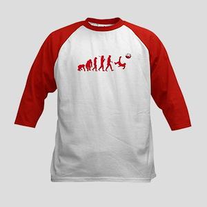 Evolution of Polish Football Kids Baseball Jersey