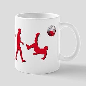 Evolution Of Polish Football Mug Mugs