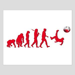 Evolution of Polish Football Small Poster