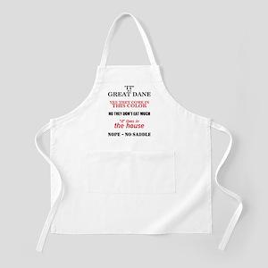Great Dane Walking Answers BBQ Apron