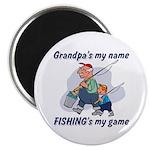 Fishing Grandpa Magnet