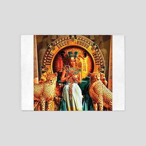 Queen Cleopatra 5'x7'Area Rug