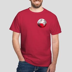 Poland Football Dark T-Shirt