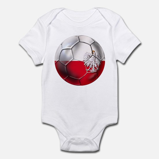 Poland Football Infant Bodysuit