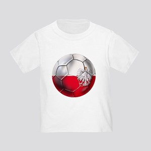 Poland Football Toddler T-Shirt