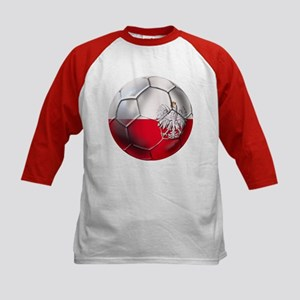 Poland Football Kids Baseball Jersey