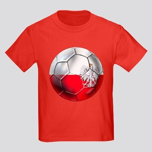Poland Football Kids Dark T-Shirt