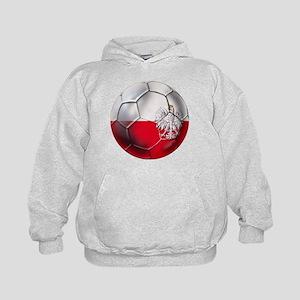 Poland Football Kids Hoodie