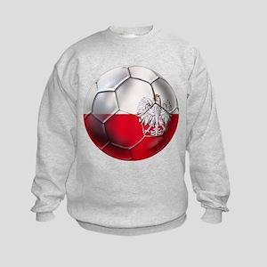 Poland Football Kids Sweatshirt