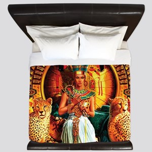 Queen Cleopatra King Duvet