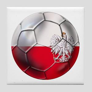 Poland Football Tile Coaster