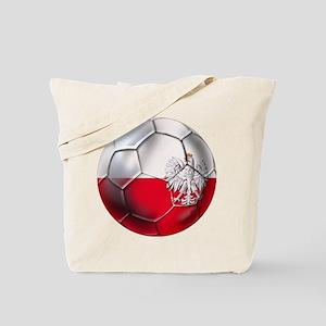 Poland Football Tote Bag