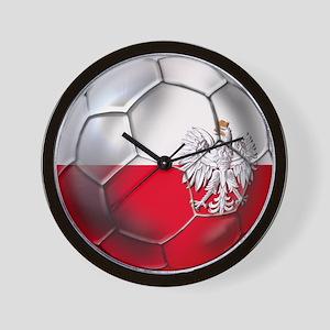 Poland Football Wall Clock