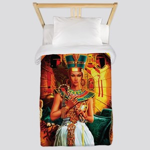 Queen Cleopatra Twin Duvet Cover