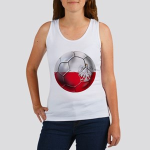 Poland Football Women's Tank Top