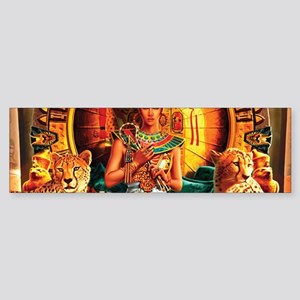 Queen Cleopatra Bumper Sticker