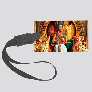 Queen Cleopatra Large Luggage Tag
