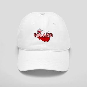 Polish Flag Map Cap