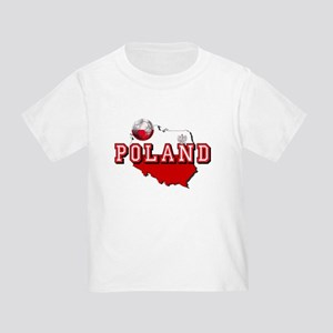 Polish Flag Map Toddler T-Shirt
