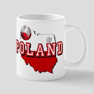 Polish Flag Map 11 oz Ceramic Mug