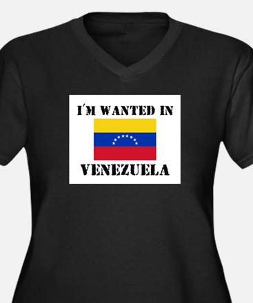 I'm Wanted In Venezuela Women's Plus Size V-Neck D