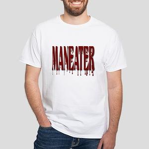 Maneater White T-Shirt