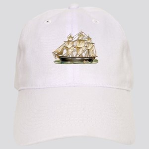 Father's Day Classic Tall Ship Baseball Cap