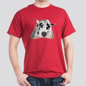 Great Dane Shy Harlequin Dark T-Shirt