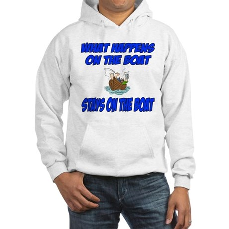 What happens on the boat Hooded Sweatshirt