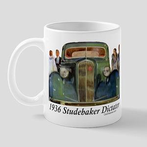 """""""1936 Studebaker Dictator"""" Mug"""