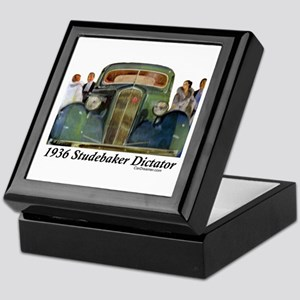 """1936 Studebaker Dictator"" Keepsake Box"
