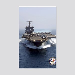 USS Enterprise CVN-65 Rectangle Sticker