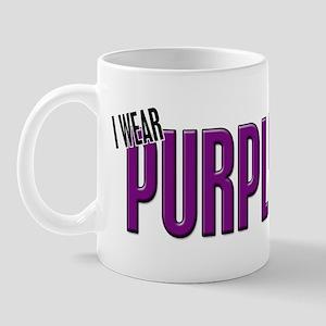 I Wear Purple For My Aunt 10 Mug