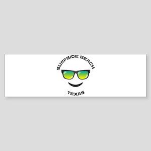 Texas - Surfside Beach Bumper Sticker