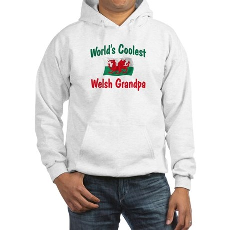 Coolest Welsh Grandpa Hooded Sweatshirt