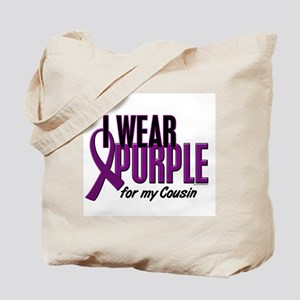 I Wear Purple For My Cousin 10 Tote Bag