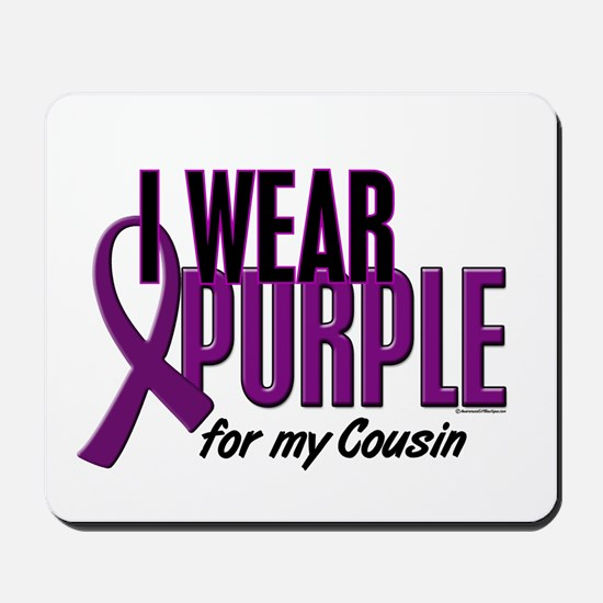 I Wear Purple For My Cousin 10 Mousepad
