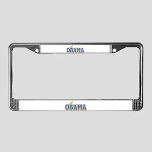 I say Vote Barack Obama Blue License Plate Frame