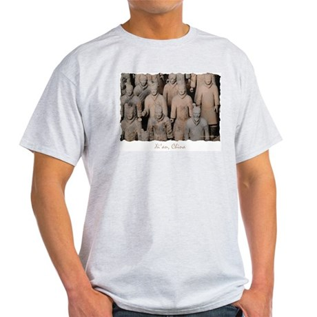 Xi'an Warriors - Ash Grey T-Shirt