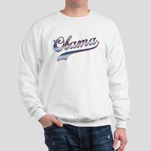 Obama Baseball Style Swoosh Sweatshirt