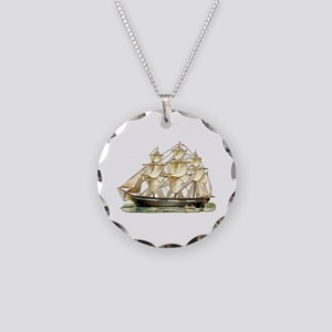 Father's Day Classic Tall Necklace Circle Char