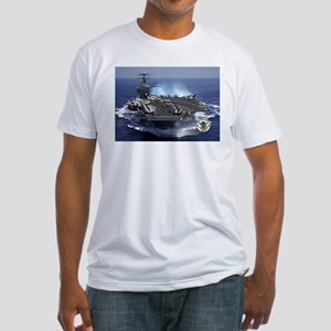 USS Carl Vinson CVN-70 Fitted T-Shirt