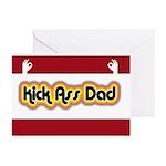Kick Ass Dad Greeting Cards (Pk of 20)