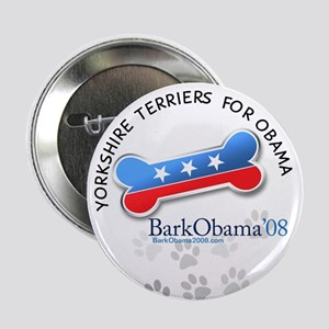 Yorkshire Terriers for Obama button