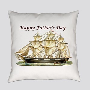 Father's Day Classic Tall Ship Everyday Pillow