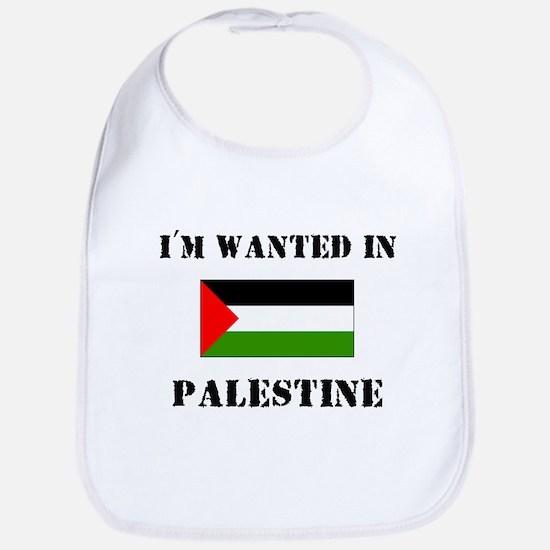 I'm Wanted In Palestine Bib