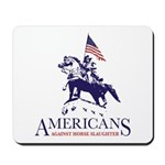 Americans Against Horse Slaughter Mousepad